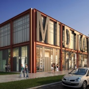 Walmart Retail Liner Building
