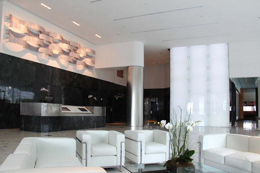 Cre Sources Miami Towers Sky Lobby Gets A Makeover